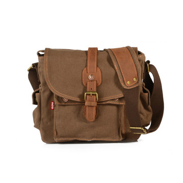 Men Messenger Bag Liten Canvas Shoulder Bag