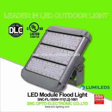 Luz de inundación al aire libre de la iluminación IP65 LED 185w con la aprobación de UL CUL DLC