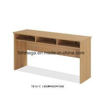 Table rectangulaire bureau MFC pour salle de réunion (FOH-TB14-C)