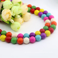Best Selling M0006 Round Shape Mix Color Tibetan Sleeping Beauty Turquoise Beads Persian Turquoise Stones