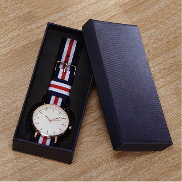 Partihandel Offsettryck Custom Luxury Paper Watch Box