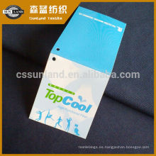 100 Tejido de poliéster tejido 75D coolpass tejido de ojal de ajuste seco 100% tejido de malla de tejido de punto de entrada de tejido de punto de entrada de tejido de enfriamiento