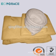 D200 x 5000mm P84 dust filter material filter bag