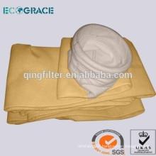 D200 x 5000mm P84 dust filter material filter bag