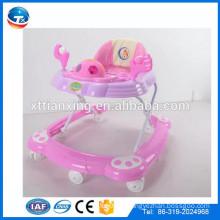 2016 bebê produto brinquedos musical novo modelo rodada bebê walker