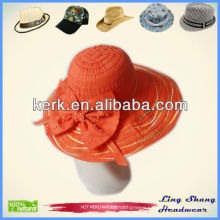 GG Band Butterfly Decoration Floppy Hat