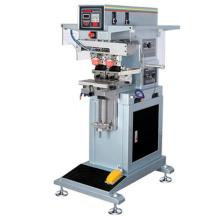 Semi automatique 2 couleur fermé encre coupe Pad Printing Machine