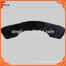 En negro Mink Fur Collar