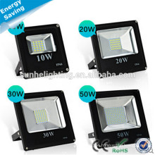 Dongguan Outdoor IP66 AC 85-265V 20w30w50w70w100w Aluminum Flood LED Light For Project