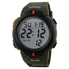 1068 skmei orange digital wristwatches custom logo titanium brand watches