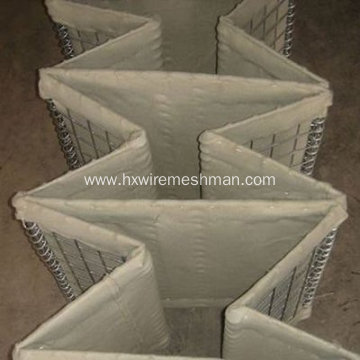 Hot dipped galvanized hesco barrier