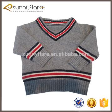 Nouveau design 100% Cachemire à tricoter des modèles pour les enfants chandails de mode