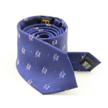 Men's Classic White Polka Dot Neck Tie
