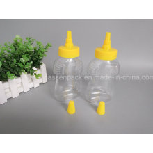500g Pet Plastik Honig Flasche mit Plastik Nozzel Cap