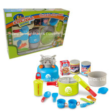 Boutique Playhouse Plastic Toy-Camping Set com Snack
