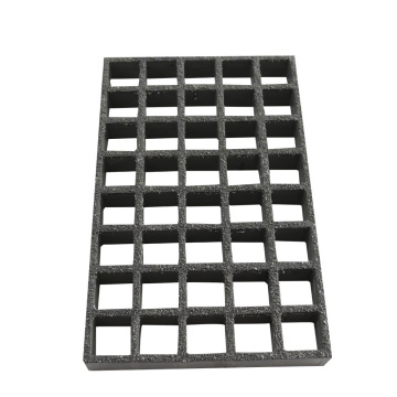 Frp Grip Anti-Slip Molded FRP Grating Panel Quadratisches Netz 38 * 38mm