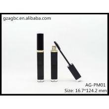 Tube de Mascara Quadrate acrylique élégant & vide AG-PM01, AGPM emballage cosmétique, couleurs/Logo personnalisé