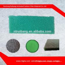 espuma do filtro de ar do hepa do formulário da esponja da rede do filtro da categoria com carbono ativado