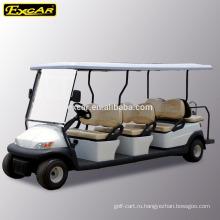 8 пассажиров электрический автомобиль, экскурсионный автобус, электрический автобус