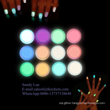 Glowing pigment powder for nail polish / plastic /paint and ink