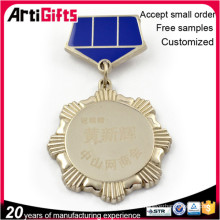 Hot selling custom wholesale medals and badge