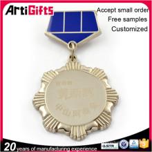 Vente chaude personnalisé en gros médailles et badge
