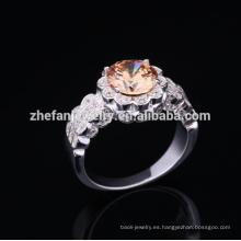 2018 anillo de plata italiano de la moda 925