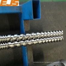 Alta calidad 38Crmoala tornillo barril para la máquina de plástico