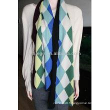 Écharpe en cachemire tricotée pour homme