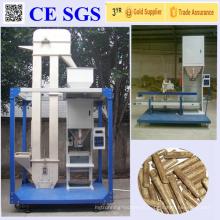Machine à emballer mobile automatique imperméable à la pluie pour le grain, granules