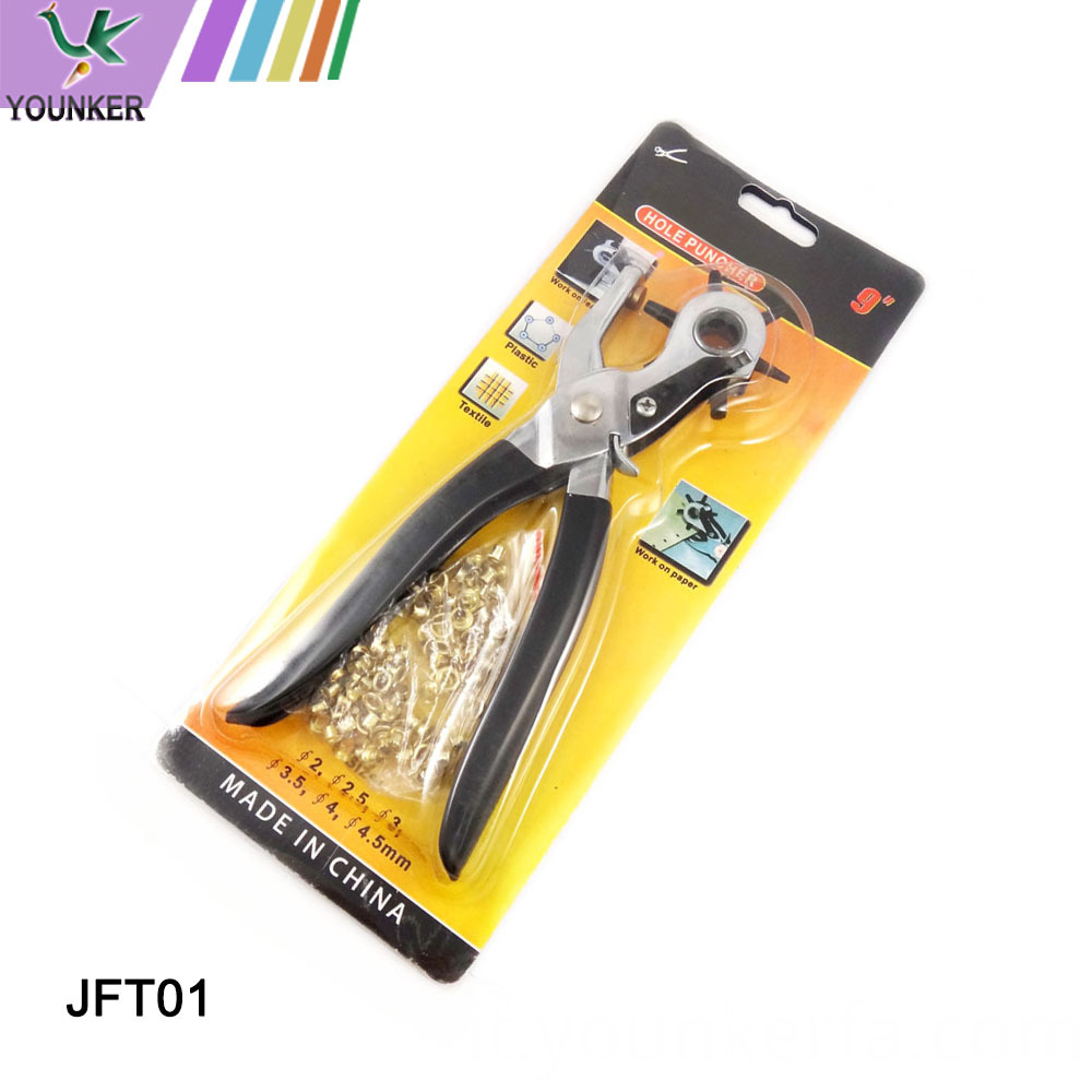 Multi Function Revolving Punch Plier