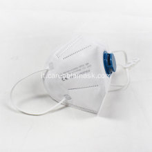 FFP3 NR Ear Loop Folded Mask Valved CE