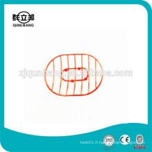 Support de savon en fer en fer / Mini métal Revêtement Savon / Savon pour salle de bain