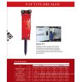 marteau de cric de disjoncteur de roche de disjoncteur d'excavatrice de haute qualité