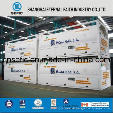 2014 Niederdruck-T75-Tankbehälter für Flüssiggas (ISO-T75-20FT)