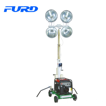 Hot sale best price 8kw small portable mobile generator light tower