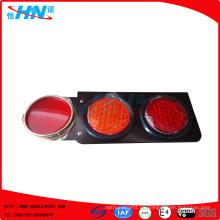 Lámpara de color rojo-ámbar 24V LED Tai lámpara
