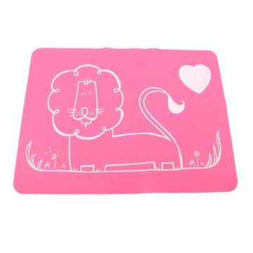Baby Dining Mat Silicone Rubber Placemat Sheet