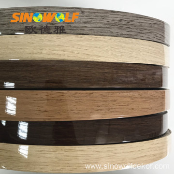 Hot Selling PVC Edge Banding High Gloss Color