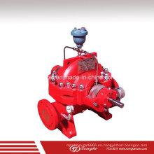 Bombas de lucha contra incendios de UL con motor UL y panel de control