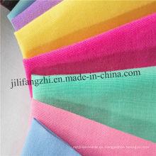 Tela tejida algodón del poliéster para la camisa / la tela teñida hilado de la camisa