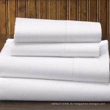 100% Baumwolle Plain Webart 300tc Hotel Flat Sheet (DPFB8008)