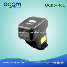 OCBS-R01: 2016 new mini ring barcode scanner bluetooth