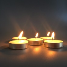 Miljövänlig Box Shrinkbag 10G Tealight Candle