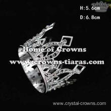Crystal Metal Pageant Children Crown Birthday Cake Crown