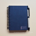 Fabrik Handgemachte Hard Cover Benutzerdefinierte Journal Notebook / Spiralblock Planer Mit Haftnotizen Notizblock / Notebook / Tagebuch