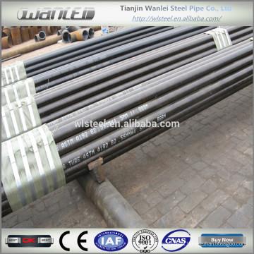 Tubo de aço sem costura de 152 mm de carbono