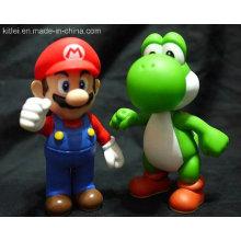 Пользовательские действий Рисунок ПВХ Rotocast игрушки для рождественских Promoption