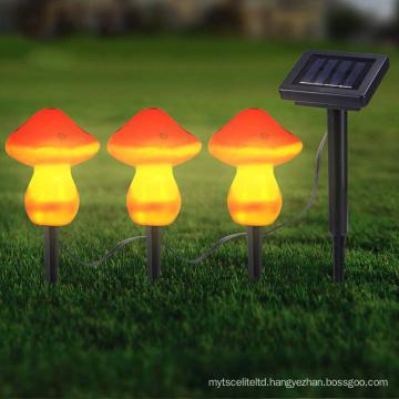 Outdoor Solar Mushroom String Led Garden Path Lawn Light Mushroom Garden Light