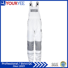 Custom White Painters Overalls with Knee Pads Holder (YBD118)